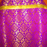 Суздальский шелк - фиолетовый